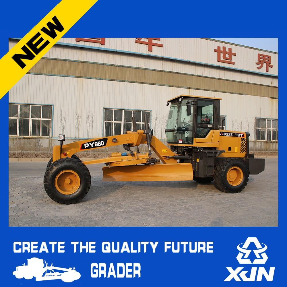 120hp Motor Grader Road Construction Equipment Cheap