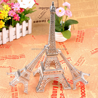 Sliver Pairs Eiffel Tower craft arts and craft