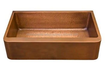 Hammered Copper Sinks | Cheap Kitchen Sink | Double Wall Copper Sink