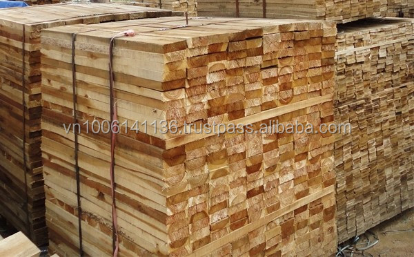 Acacia Wood Rubber Wood Pine Wood Timber For Wooden Pallet