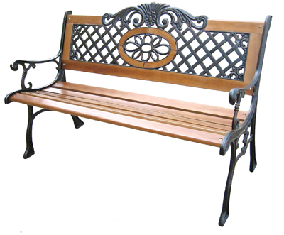Iron And Wood Patio Furniture cast iron and wood garden bench, cast iron and wood garden bench