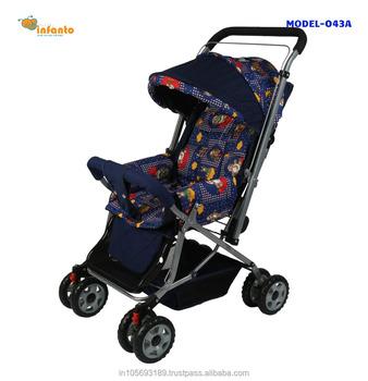 8745e6d34 New Natraj Dyna Pram Baby Navy Blue Stroller 3-1 - Buy Baby Stroller ...