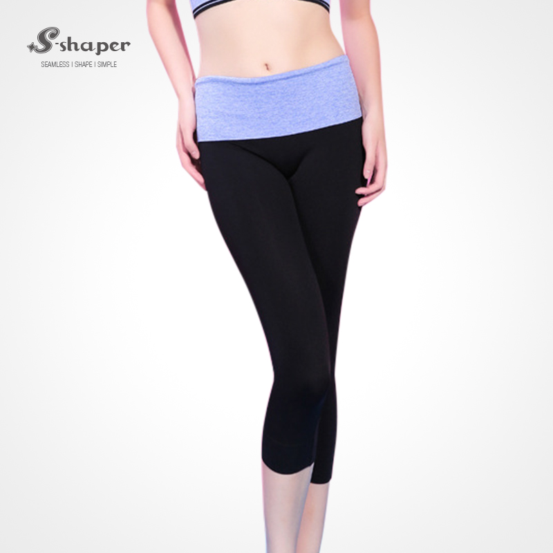 S-SHAPER Private LOGO Women's Capri Legging Fitness Yoga Sport Pants Active Wear