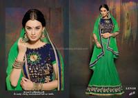 Online Designer Green Lehenga-Wholesael Indian Lehenga choli -Ethnic wear-Wedding wear-Bridal wear lehenga