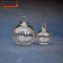 New FAI DA TE trendy all'ingrosso clear glass Christmas ball ornaments terrario