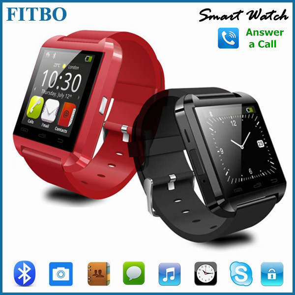 2016 New Bluetooth Bracelet Watch FTB08 Smartwatch for Android phone