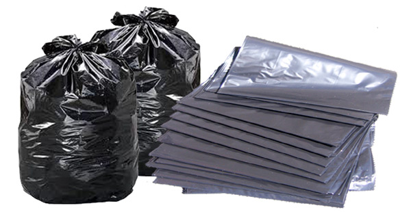 Garbage Bags Trash Bin Liners For Export Black Product On Alibaba
