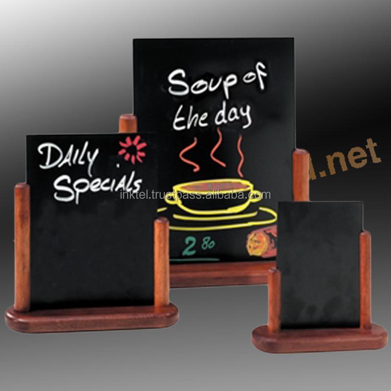 Mini Wooden Chalkboard Wholesale Wooden Clipboard Menu Holders ...