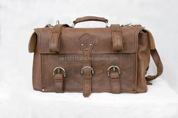 22 Bricko Rugged Leather Side Pocket