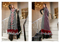 Pakistani fancy wedding dress 2016 / Party wear frock suits