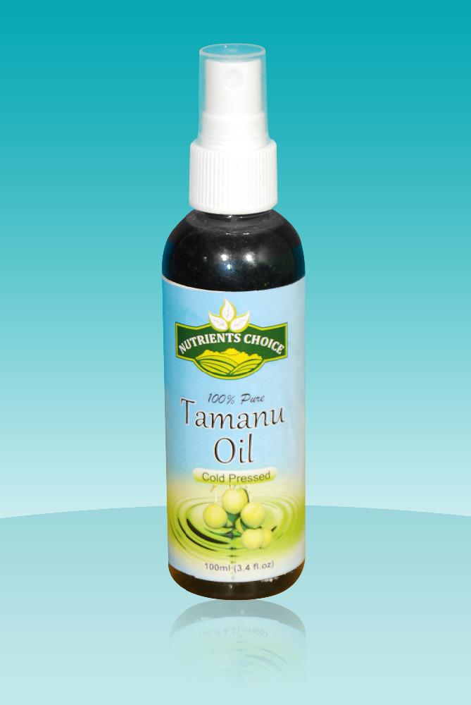 Tamanu oil and acne