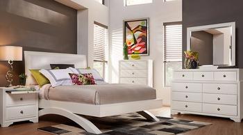 Belcourt White 5 Pc Queen Platform Bedroom - Buy Queen Bedroom Set,White  Bedroom Furniture,Bedroom Suites White Product on Alibaba.com