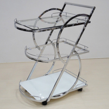 Stainless Steel High Quality Serving Bar Carts