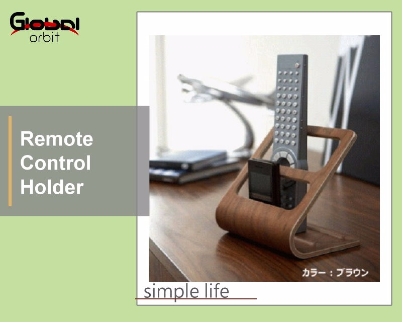 Wooden Tv Remote Control Caddy Holder