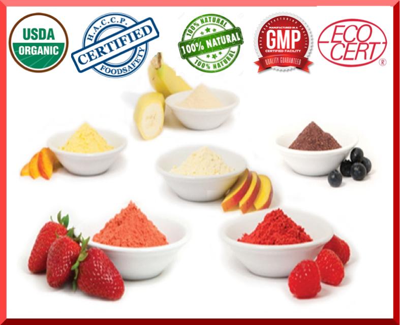 Freeze Dried Fruit Powder
