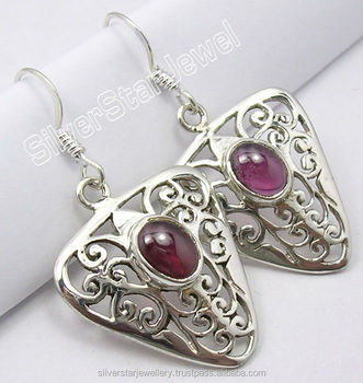 2833f0216bf5 Real Granate Filigrana 925 Pendientes De Plata - Buy Granate ...