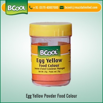 Premium Quality Egg Yellow Food Color Powder Available At Factory ...