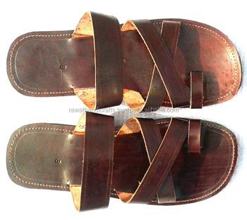 Hand Kolapuri Made Slippers Sandalen Voor Mans Lederen oeWBrdCx