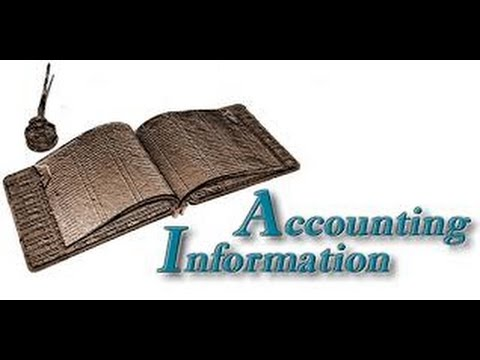 Accounting Information / Types of Accounting System / Uses of Accounting Information