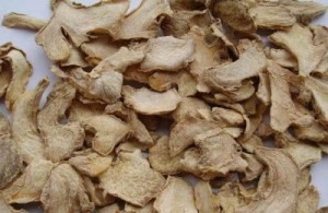 Dried Slices Ginger