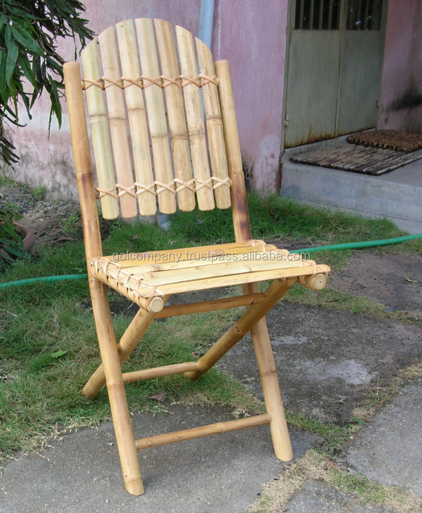 - Sillas de bambu ...