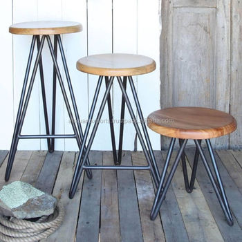 Wondrous Home Industrial Stool Hairpin Legs Bar Stool Counter Stool Buy Industrial Style Bar Stools Wooden Home Kitchen Stool Cheap Bar Stool Sets Product On Pdpeps Interior Chair Design Pdpepsorg