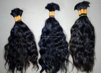 raw virgin remy unprocessed human hair bulk/natural virgin indian remy hair/ supreme hair bulk remy virgin hair wholesale