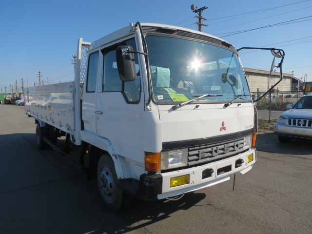 1989 Mitsubishi Fuso Fighter Flatbed / Fk417jk / 6d16 Engine ...