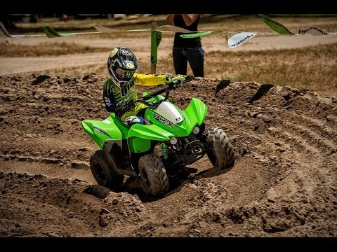 2016 Kawasaki KFX 50 - 50cc four wheeler = youth atv