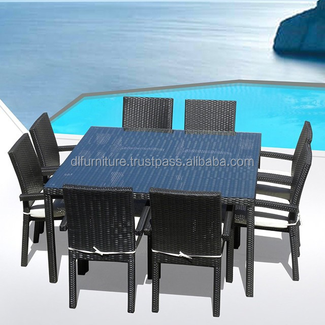 Style 2015 Large Rattan Garden Outdoor Furniture Dining Set For 8 People    Furniture For Large Part 49