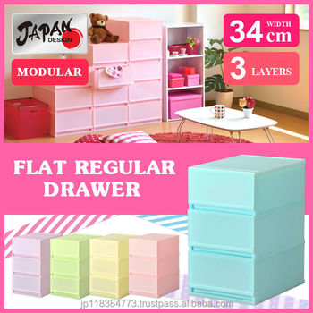 Storage Cabinet 34cm Japan Made Modular Kitchen Living Bath Room ...