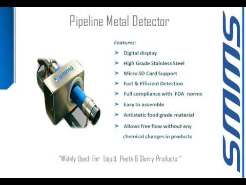 Metal Detection and Product Checking Systems By SMMS Engineering Systems Pvt Ltd, Mumbai