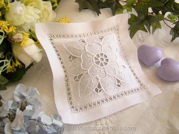 Hand Embroidery Lavender Bags Pillow Sachet Bag