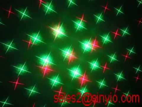 Red and Green Christmas light laser projector moving laser with remote control for Xmas