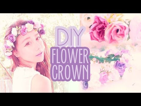 DIY Flower Crown Hair Accessory - Make your own custom springtime hair accessory | Wengie
