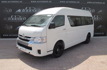 TOYOTA HIACE 15-Seater High Roof Diesel AC+ABG+ABS 2015