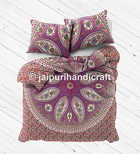 Ombre Mandala Duvet cover Indian Bohemian Doona Quilt Blanket Cover with pillowcase
