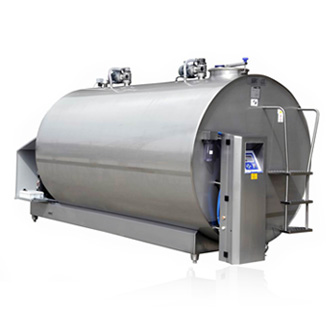 Milk Processing Machines Stainless Turkish Quality From 1000L To 3000L Milk Cooling and Storage Tank