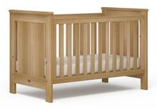 baby crib/ wooden baby crib/ natural baby room furniture