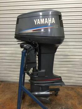 Used 115 hp yamaha outboard boat motor 4 stroke fuel for Used boat motors for sale in sc
