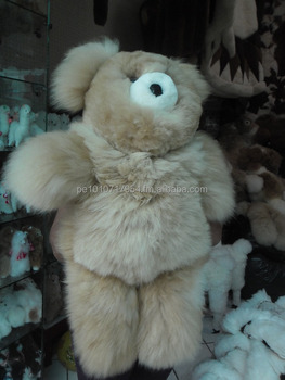 Teddy Bear Made In Finest Baby Alpaca Fur Buy Teddy Bear Alpaca