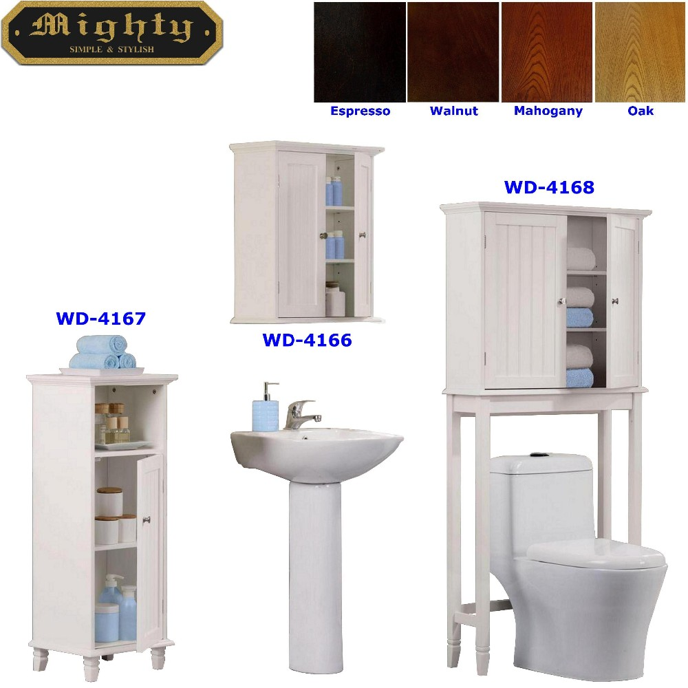 Toilet Shelving Cabinet Linen Tower
