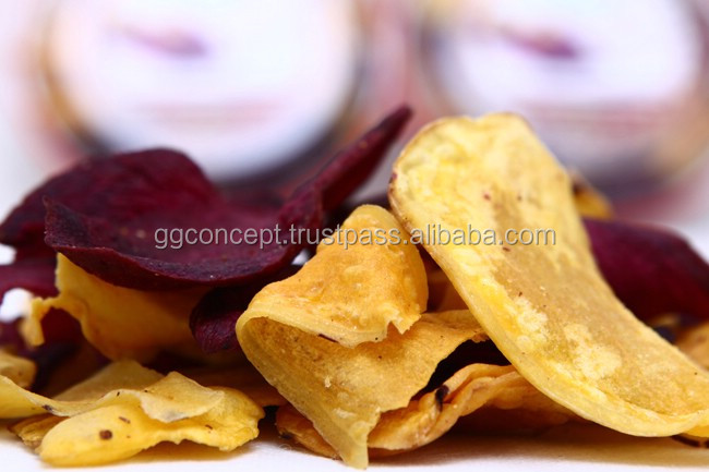 Sweet Potato Chips 1kg Pouch/Dried sweet potato/ Dried Vegetable