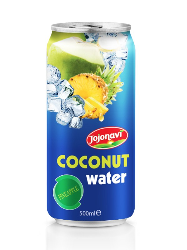 Natural Coconut water manufacturers Fruit juice in aluminium can 500ml