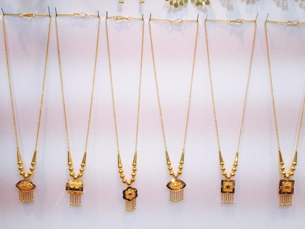 Bahrain Gold Necklace, Bahrain Gold Necklace Manufacturers and ...