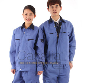 Whole sale High Quality, cheap Polyester/cotton work wear uniform [CASALIA]