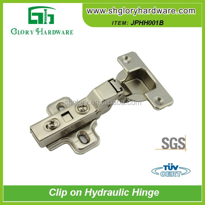 Classical Useful Shower Door Hinges Brushed Stainless Steel