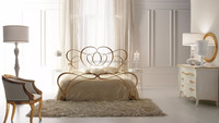 Metal Bed , Iron Bed , Luxury Iron Bed Set , Iron double bed designs