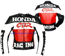 Motorbike Leather Racing Jacket, Genuine Leather Motorbike/Motorcycle/Biker Leather Jackets, Motorbike Leather Jacket