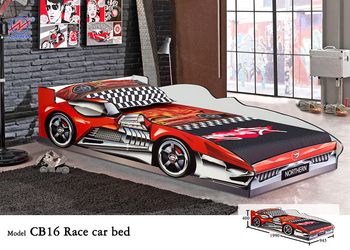 best sales kids wooden car bed f1 racing car